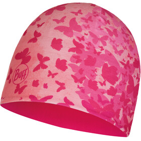 Buff Micro & Polar Hat Kids Butterfly Pink